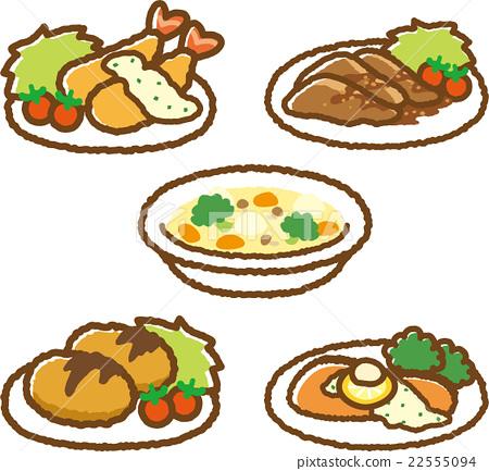 食物 食品 西餐 22555094