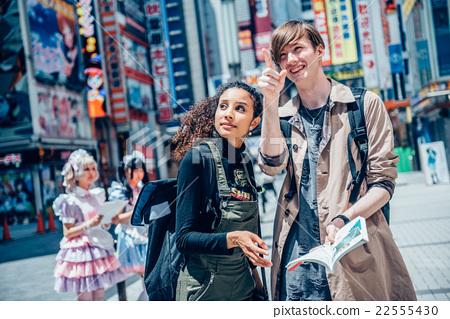 外國人在秋葉原觀光 22555430