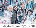外國人在秋葉原觀光 22555706