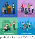 illustration, homeless, person 22556773