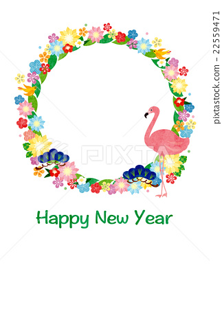 new year's card, new years card template, new year's card materials 22559471