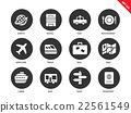 Travel icons on white background 22561549