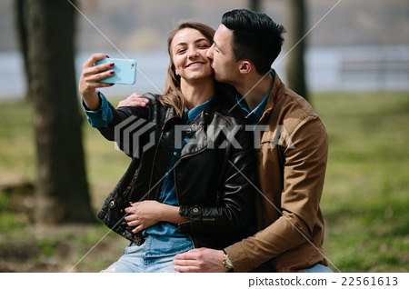 beautiful young couple 22561613