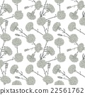 Seamless pattern of cloves 22561762