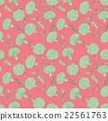 Seamless pattern of cloves 22561763