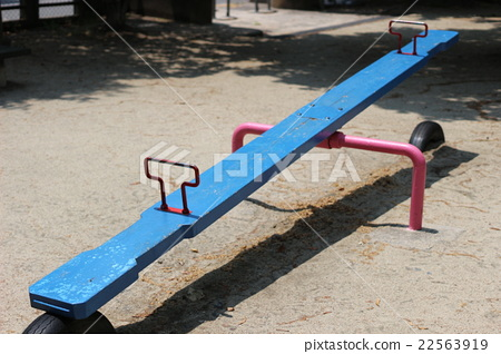 The seesaw of the park 22563919