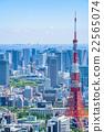 東京都市風景在初夏 22565074