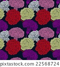 Seamless pattern of cloves 22568724