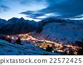 Les deux alpes at night 22572425