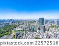 東京都市風景在初夏 22572516