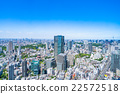 Tokyo cityscape in early summer 22572518