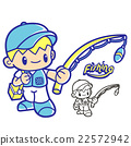 Fishing club mascot. Education and life Character 22572942
