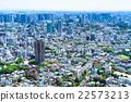 东京都市风景在初夏 22573213