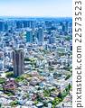 东京都市风景在初夏 22573523