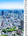 东京都市风景在初夏 22573524