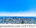 东京都市风景在初夏 22573527