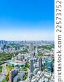 东京都市风景在初夏 22573752