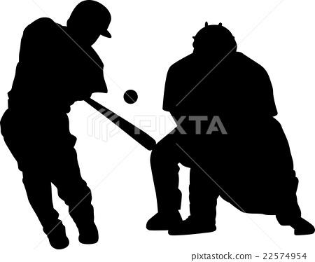 vector, vectors, baseball 22574954