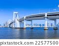 从Daiba公园的彩虹桥 22577500