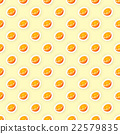 Vector seamless pattern background with orange 22579835
