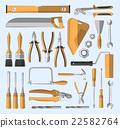 Construction tools set 22582764