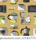 Cooking devices pattern 22582775