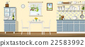 Illustration of a classic kitchen 22583992