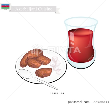 Traditional Black Hot Tea, Drink in Azerbaijan 22586844