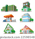 building, buildings, vector 22596548