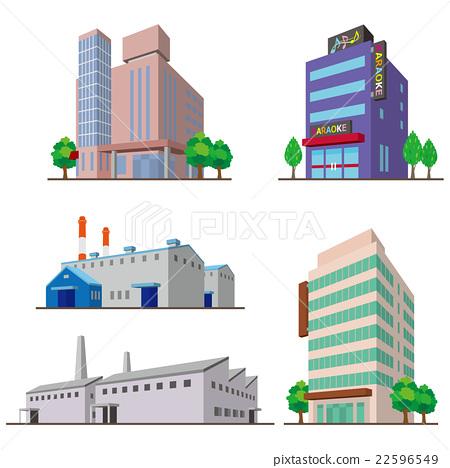 Building / solid figure 22596549