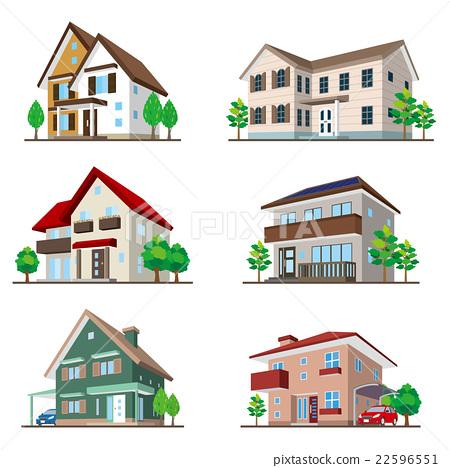 建筑 矢量 商业 22596551