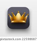 crown vector icon 22598687