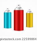 aluminium spray can 22599864