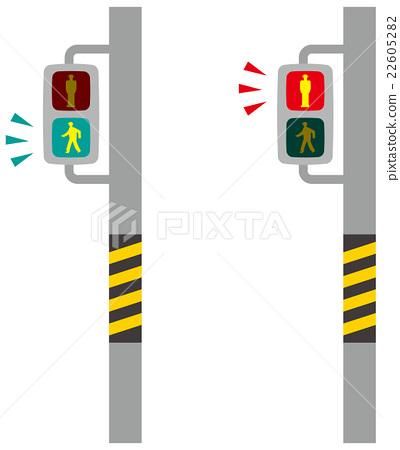 Image illustration of pedestrian traffic light 22605282