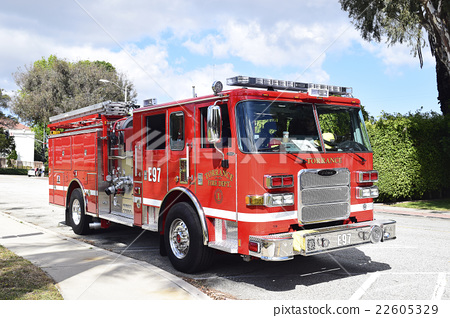 Torrance city fire engine 22605329