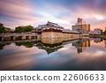 Hiroshima Castle Gate 22606633