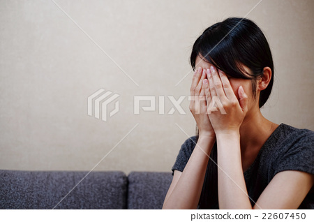 Stock Photo: cry, crying, person