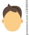 男的臉 22608694
