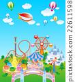 遊樂園藍天 22611598