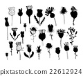 Agrimony plants collection, sketch for your design 22612924