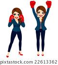 女企业家 女性白领 女商人 22613362
