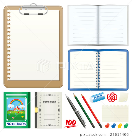 stationery, stationeries, notebook 22614406