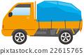卡車 矢量 輕型卡車 22615765