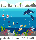background under the sea  22617406