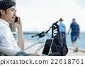 男人 手機 商務 22618761