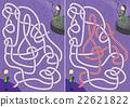 Saxophone player maze 22621822
