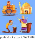 icons, set, religion 22624904