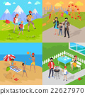 Family Holiday Barbecue Hiking and Amusement Park 22627970