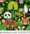 Animals Seamless Pattern 22630170