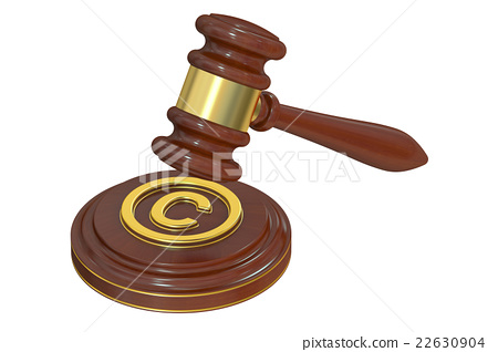 Copyright laws and intellectual property concept 22630904